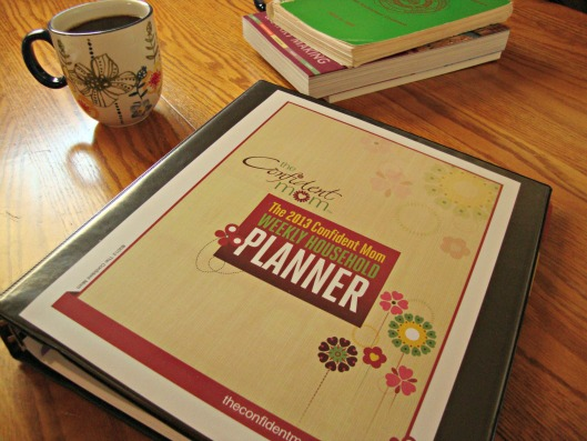 The Confident Mom Weekly Household Planner!