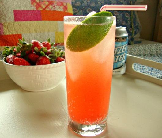 Strawberry-Lime Soda