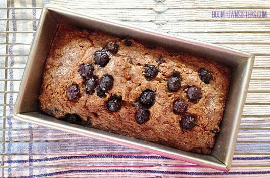 Blueberry Banana Bread @ Boomtown Sisters